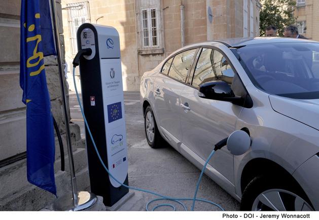 Demo Ev Electric Car Malta