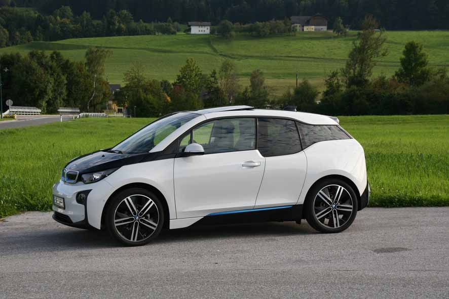 BMW i3, the silent experience